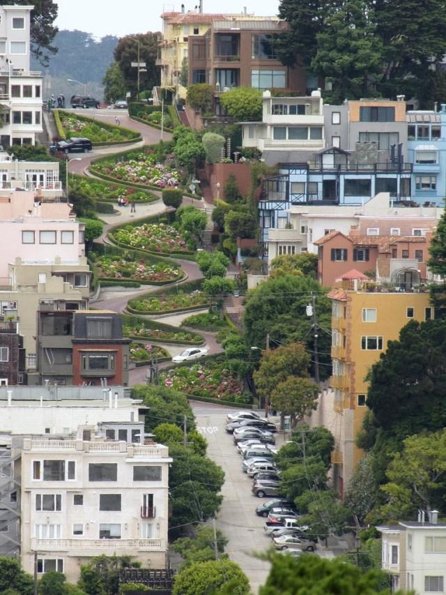 Lombard St. San Francisco