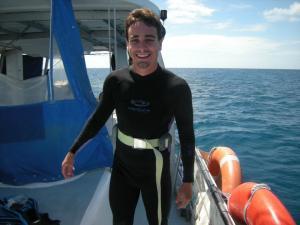 Mergulhando na Grande Barreira de Corais