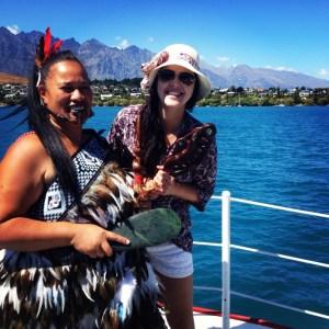#experiência: Bruna Palmieri, Nova Zelândia