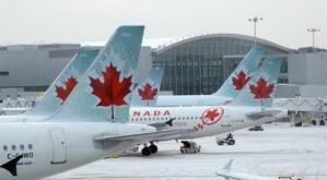 Chegando no Aeroporto no Canada