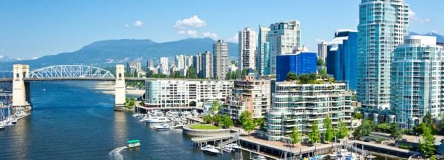 Vancouver, uma das melhores cidades do mundo para viver.