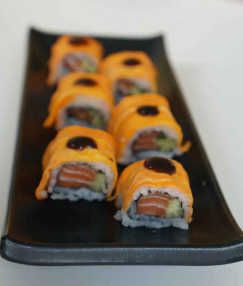 Sweet potato sushi roll recipe