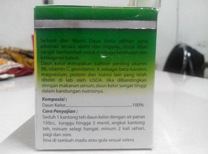 ekstrak daun kelor