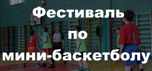 20 мая пройдет фестиваль по мини-баскетболу