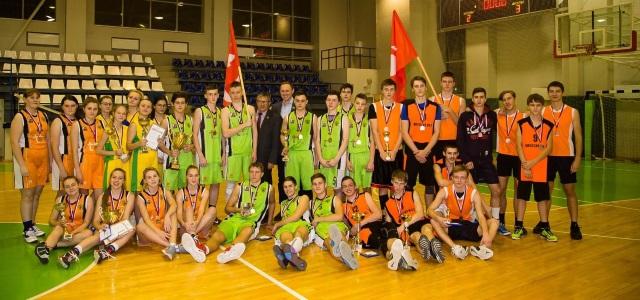 Финал школьной баскетбольной лиги г.Новокузнецк (фото)