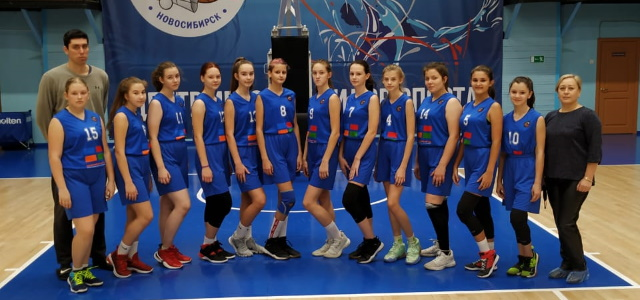Завершен межрегиональный этап Первенства России по баскетболу среди девушек