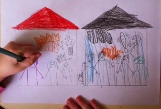 """Методика """"Два дома"""" для дошкольников: особенности ..."""