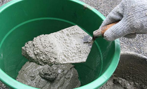 можно развести цемент без песка