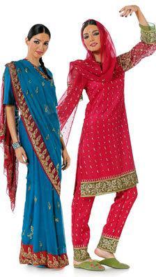 Schönes indisches Sari-Foto
