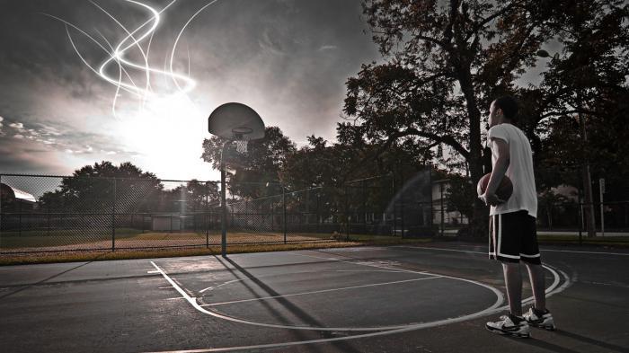 Streetball Court.