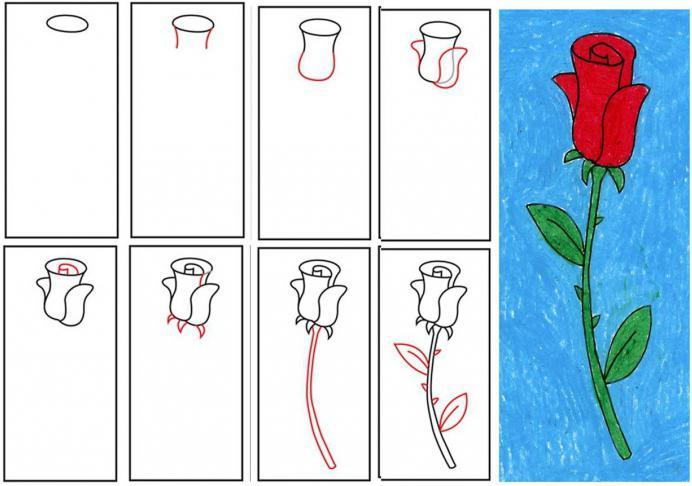 Красивые открытки как нарисовать