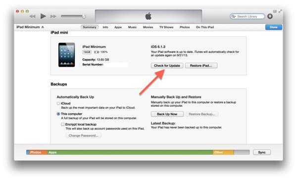 """Firmware på """"iPhone"""" 4"""
