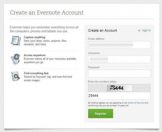 Evernote نحوه استفاده از