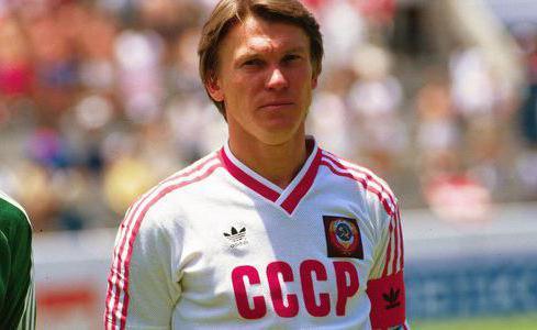Биография Олега Блохина, его спортивные достижения