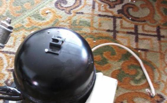 Compresor de la răcitorul pentru generatorul de fum