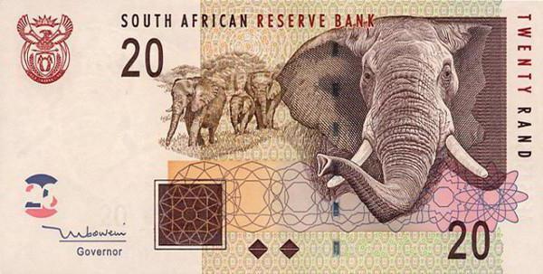 Randi fekete ember Dél-Afrikában