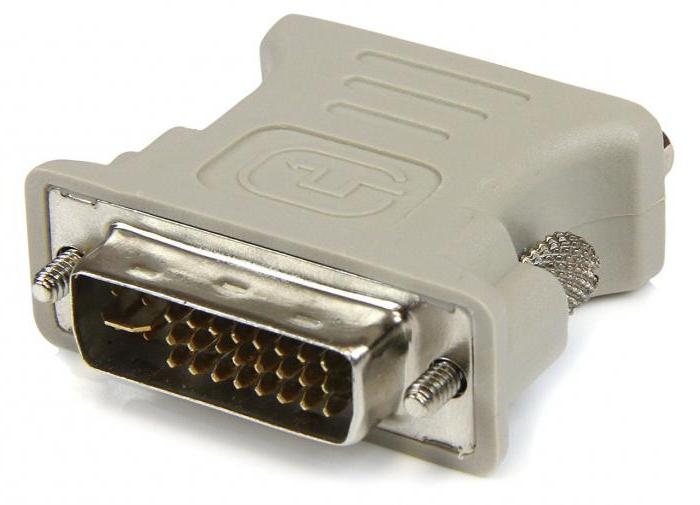 DVI VGA adapter do it yourself
