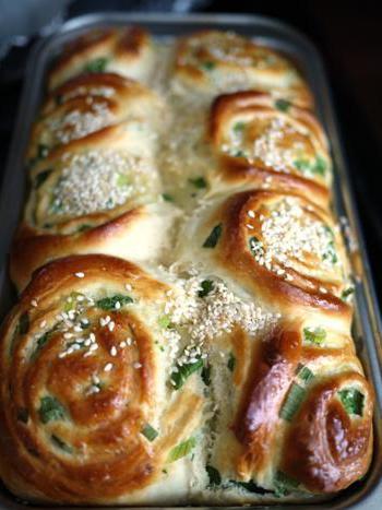 Луковый хлеб в хлебопечке. Рецепты на каждый день