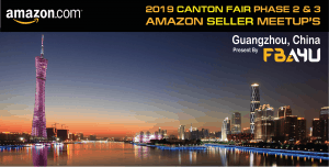 Amazon Sellers Meetup - TOMORROW! - Canton Fair - Phase 3 - Friday 1st November October - FREE EVENT