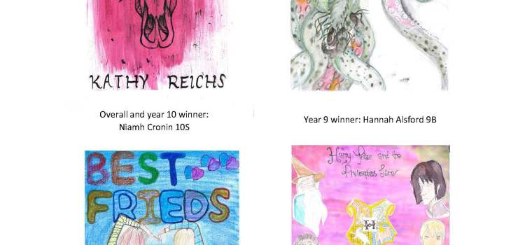 Library book cover design competition winners