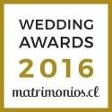 Premio matrimonios.cl 2016