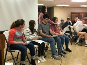 fbc students do Christmas skit