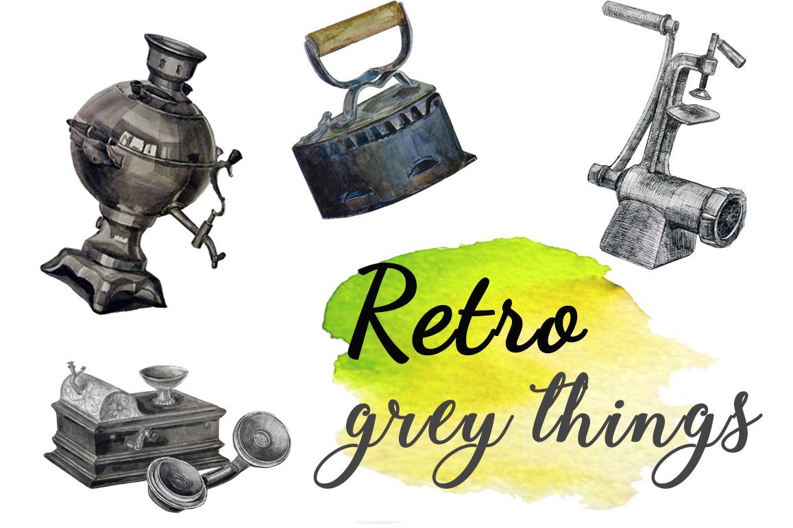 Vintage Grey Things