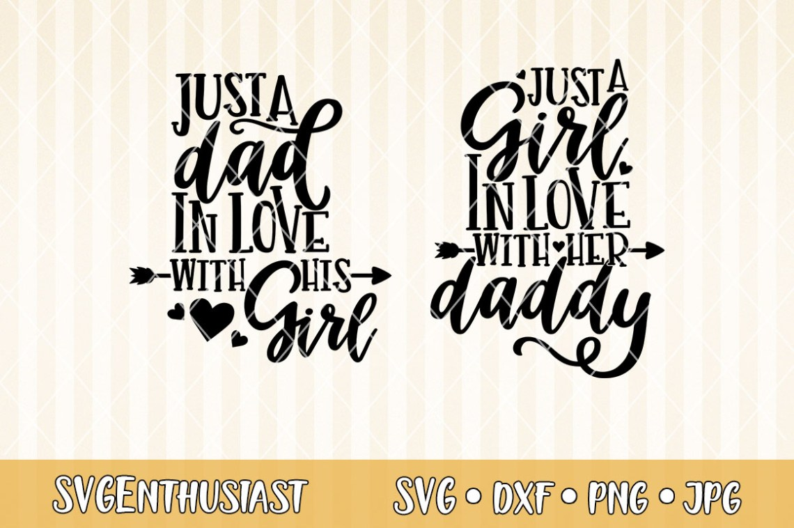 Download Just a dad in love with his girl SVG cut file
