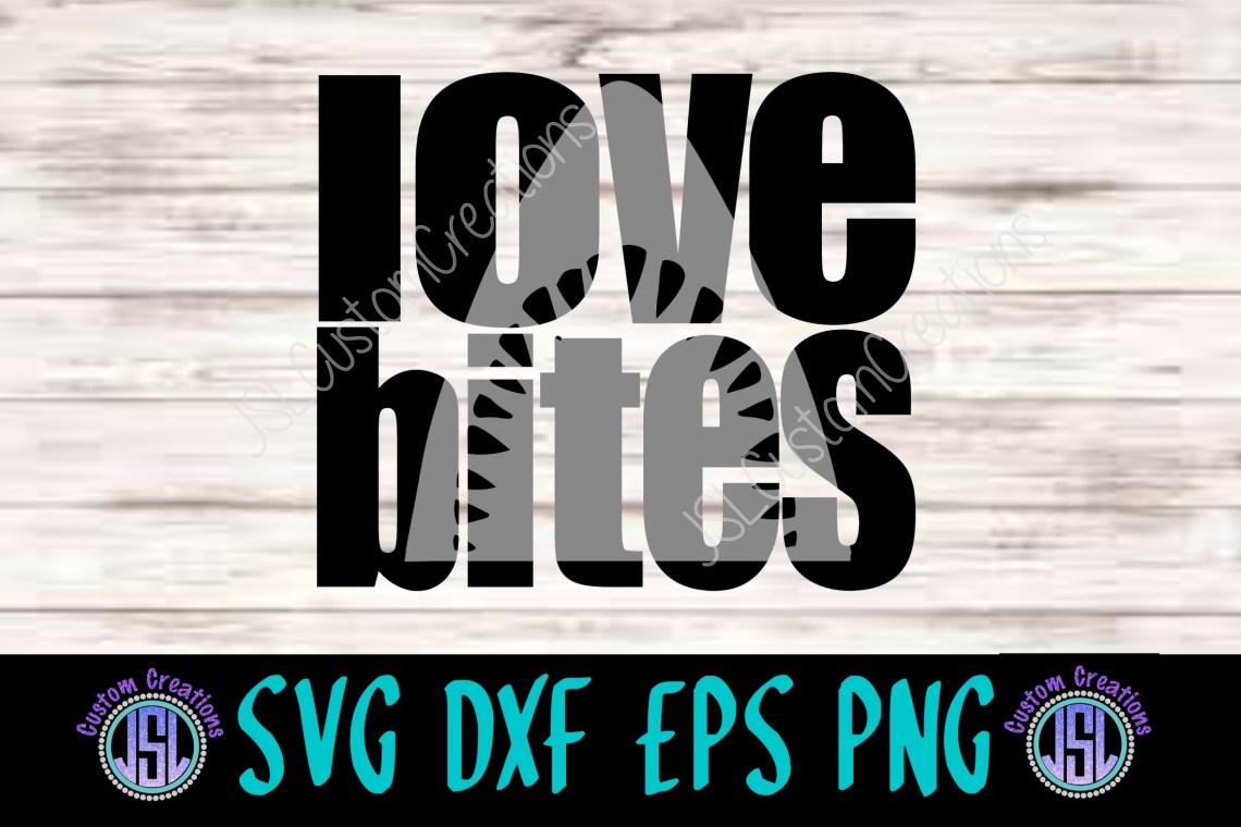Download Love Bites | Shark Knockout Design|SVG DXF EPS PNG ...