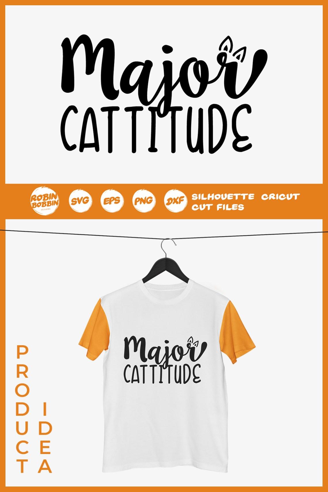 Download Major Cattitude SVG - Cat Lover SVG (293264)   Cut Files ...