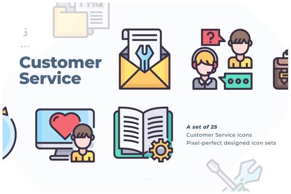 25 Customer Service icon