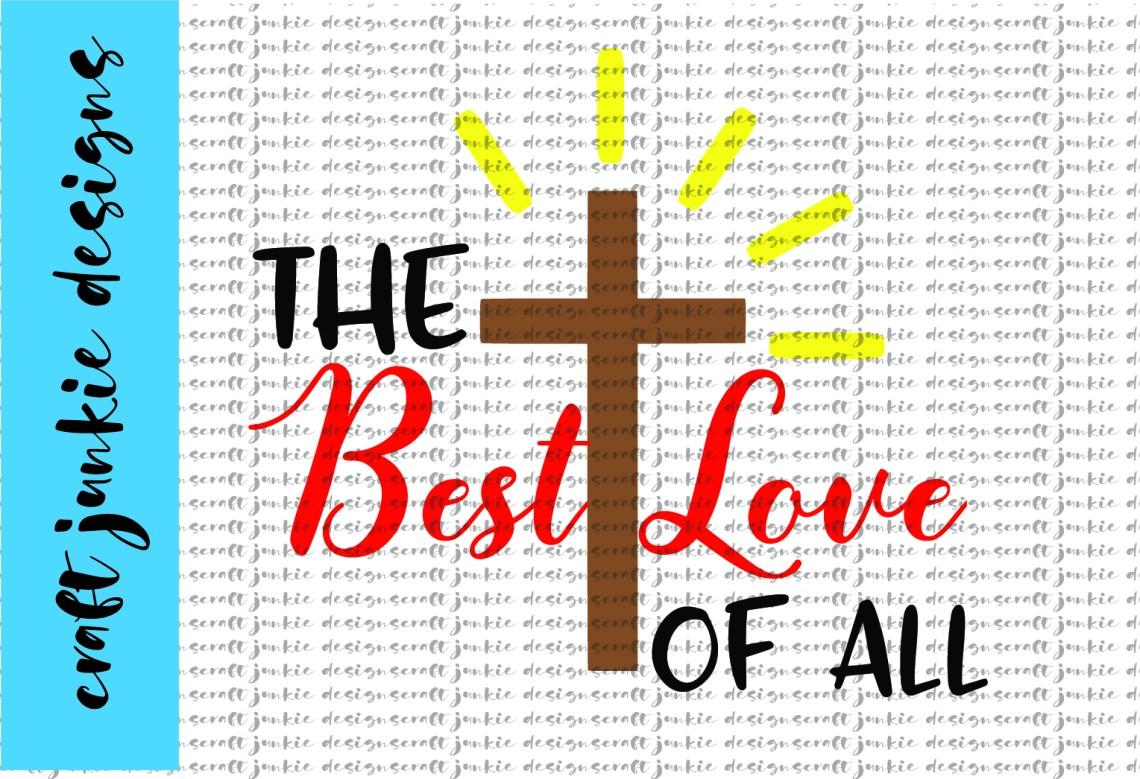 Download The Best Love SVG