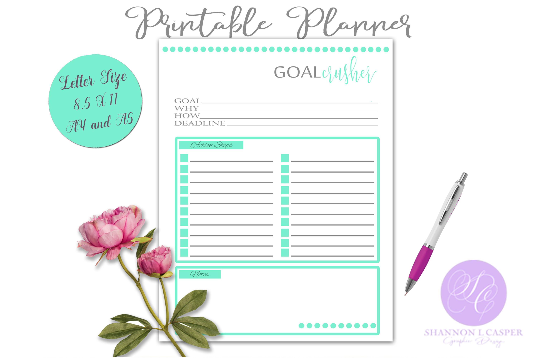 Printable Goal Crusher