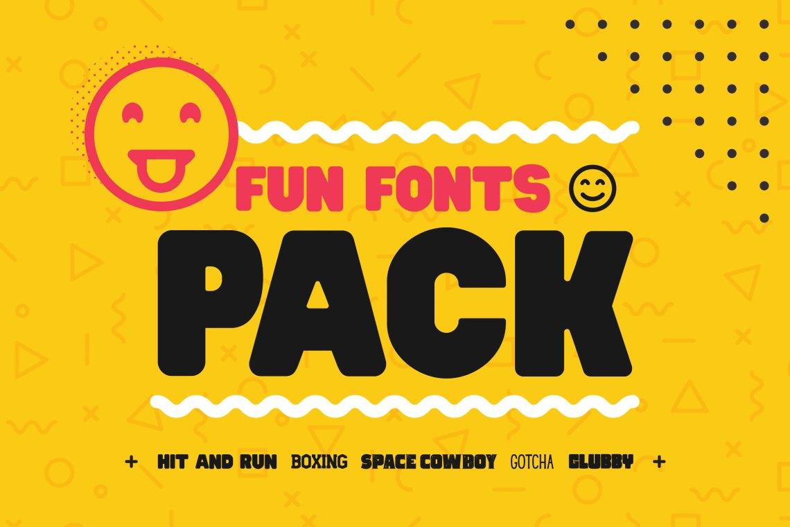 Download Fun Fonts Pack! - Bundle! (31799)   Regular   Font Bundles