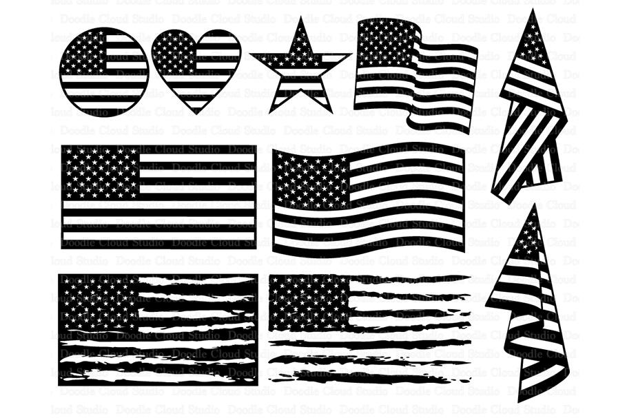 Download American flag SVG, Distressed USA Flag svg, Patriotic ...
