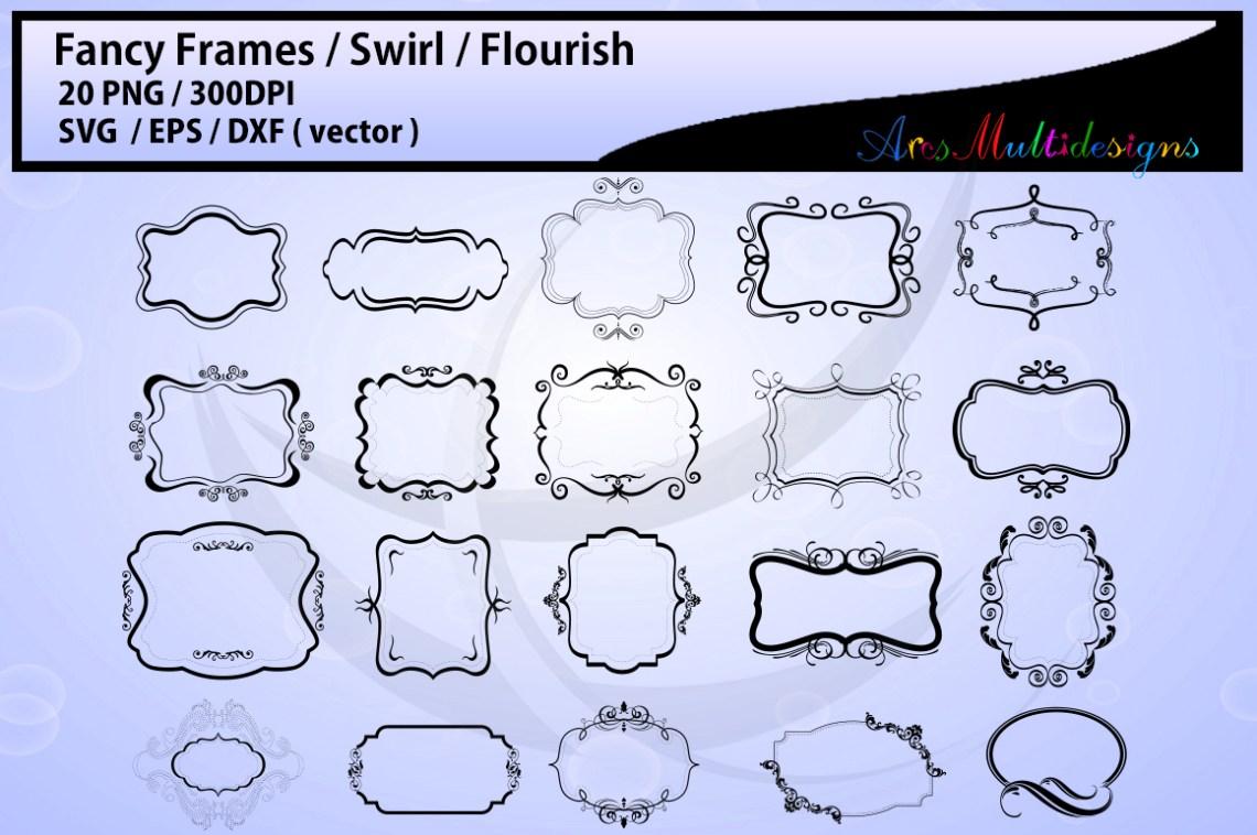 Fancy frames SVG/ fancy labels SVG / frames EPS/ borders ...