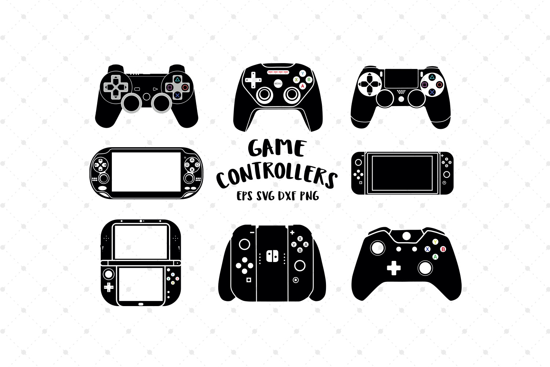 Game Controller Svg Cut Files