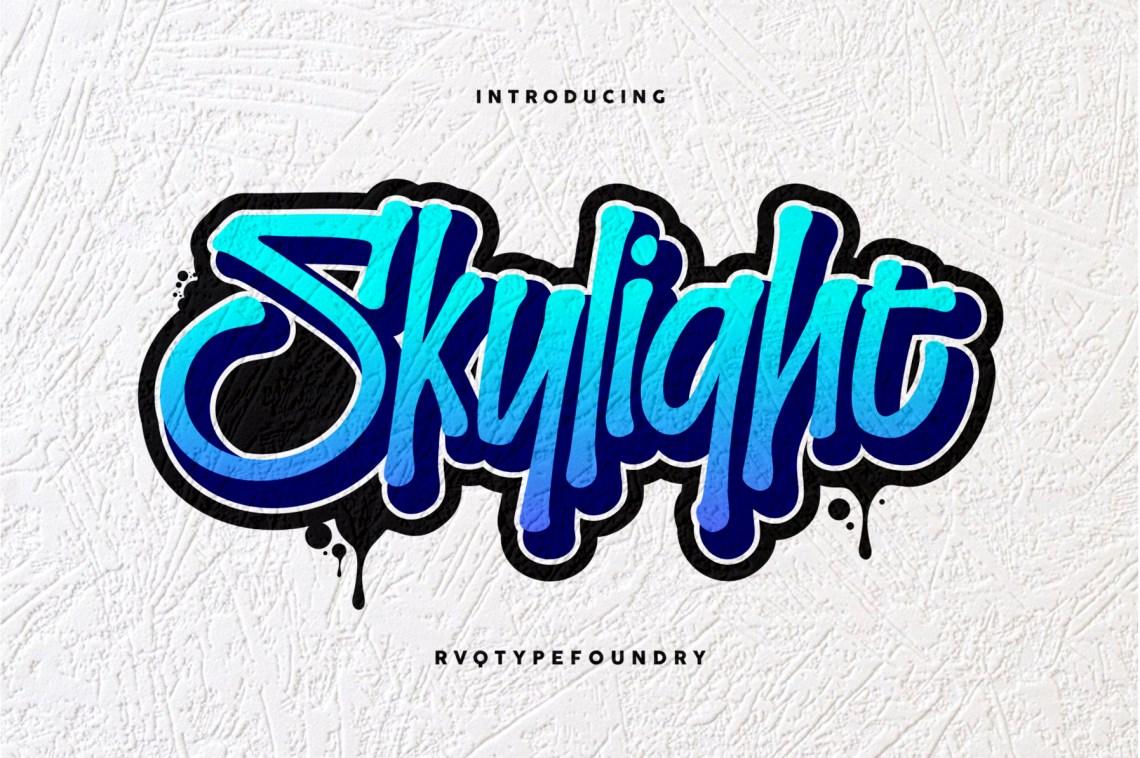 Download Skylight Graffiti (147692) | Logo | Font Bundles