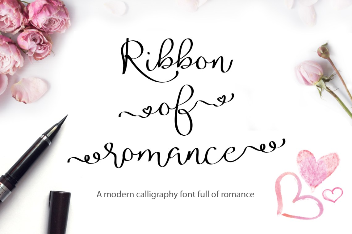 Download Valentine's Font Bundle with 6 Free Procreate Brushes