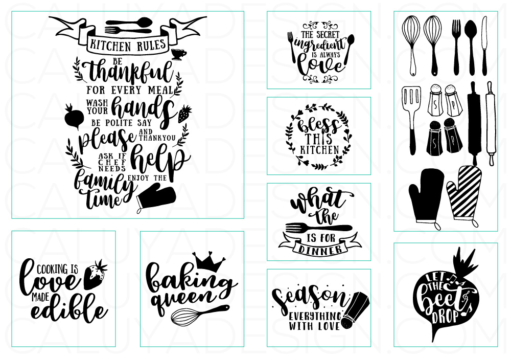 Download 40+ Free Kitchen Svg Bundle Pictures Free SVG files ...