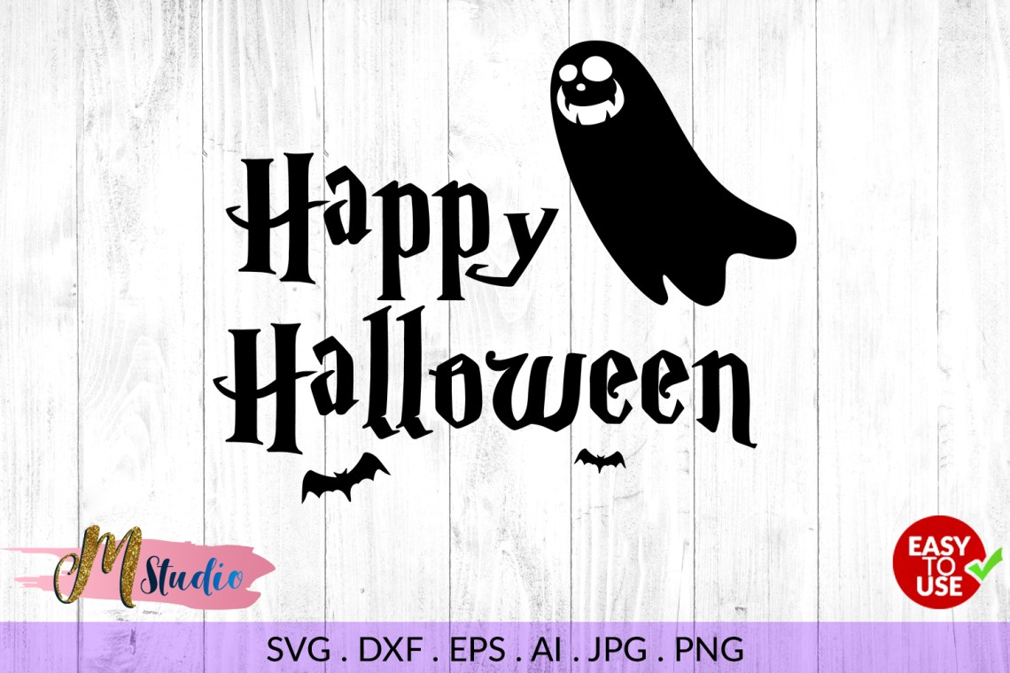 Download Happy halloween svg, for Silhouette Cameo or Cricut
