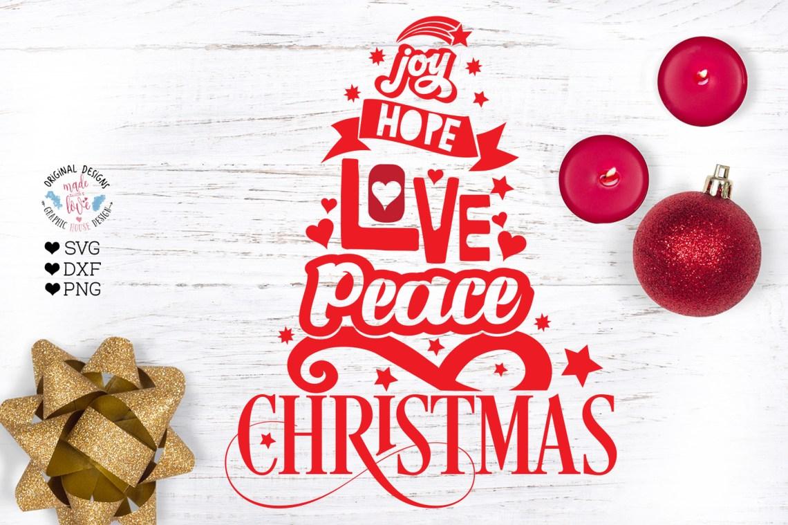 Download Joy Hope Love Peace Christmas (383542) | Printables ...