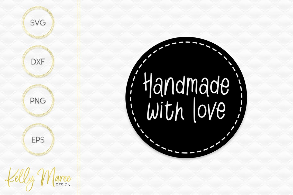 Download Handmade With Love SVG File   Cut File   Silhouette  Cricut