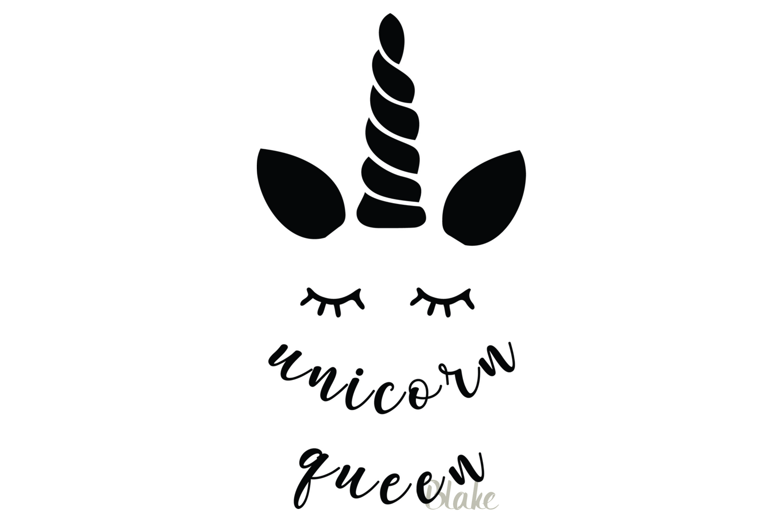 Unicorn Queen Svg File Unicorn Svg Unicorn Birthday Party