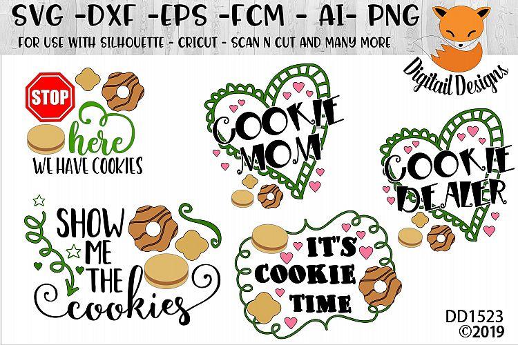 Download Cookie Dealer Bundle SVG (93074)   Cut Files   Design Bundles