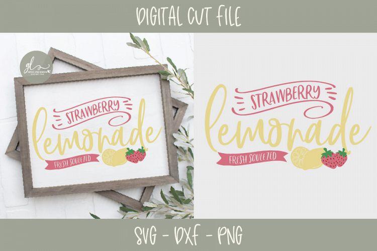 Download Strawberry Lemonade - SVG, DXF & PNG