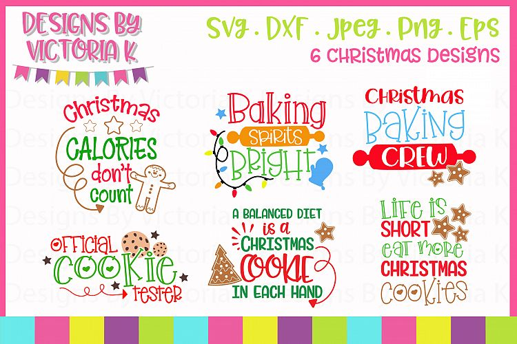 Download Christmas Cookies, Baking, Christmas, SVG, DXF, PNG ...