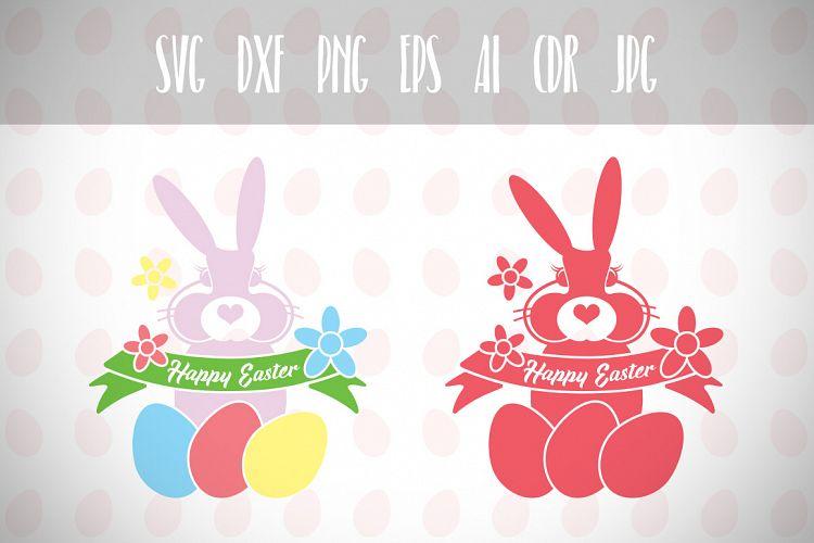 Download Easter Bunny Svg, Happy Easter, Easter Svg, Easter Basket ...