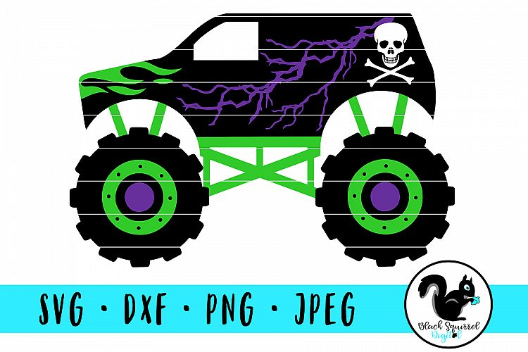 Download Monster Truck SVG, Truck Jam Clipart, Lifted Truck DXF ...
