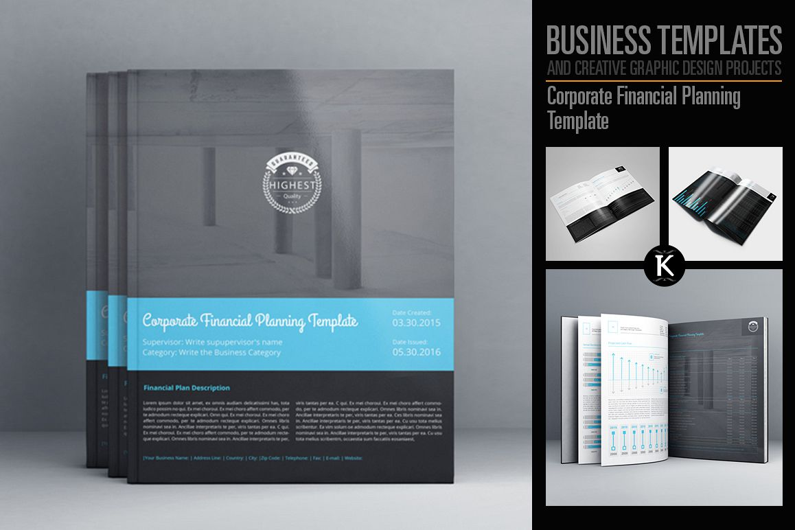 Corporate Financial Planning Template b   Design Bundles Corporate Financial Planning Template example image